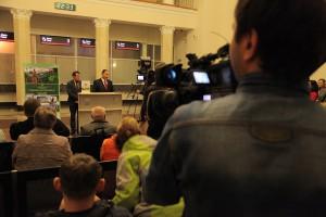 Пресс-конференция в Сочи